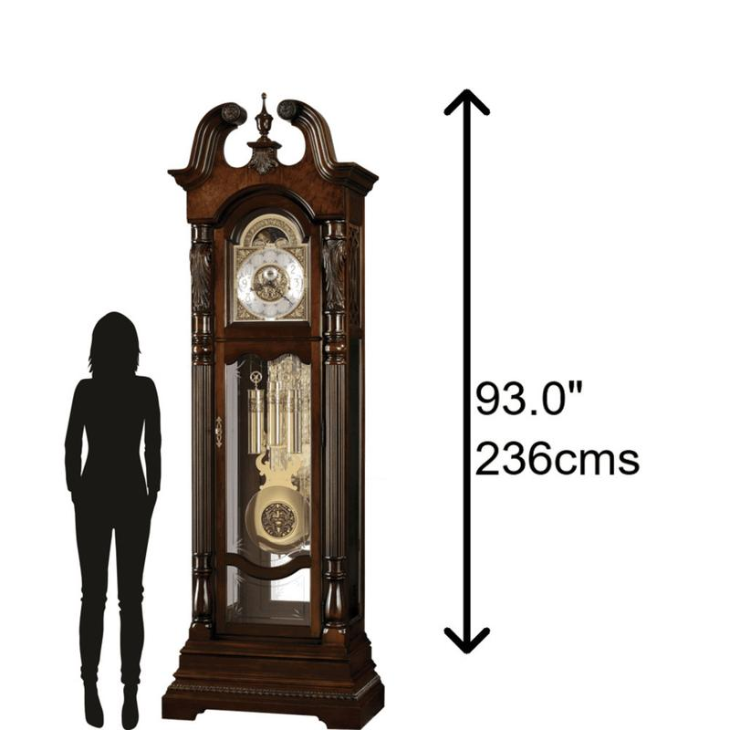 Howard Miller Lindsey Grandfather Clock 611046