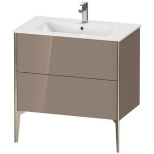 Vanity Unit Floorstanding, Cappuccino High Gloss (lacquer)