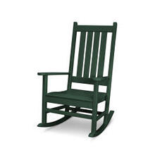 View Product - Vineyard Porch Rocking Chair in Green