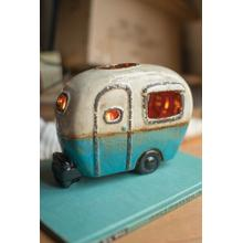 See Details - ceramic camper lamp