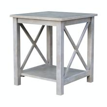 View Product - Hampton End Table in Taupe Gray