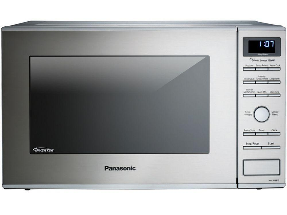 Panasonic1.2 Cu. Ft. Built-In/countertop Microwave Oven With Inverter Technology - Stainless Steel - Nn-Sd681s