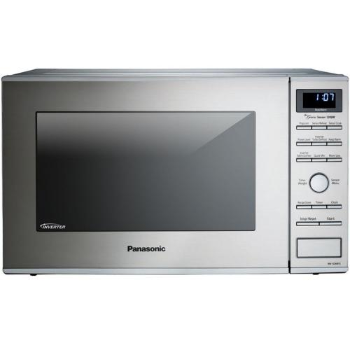 Panasonic - 1.2 Cu. Ft. Built-In/Countertop Microwave Oven with Inverter Technology™ - Stainless Steel - NN-SD681S