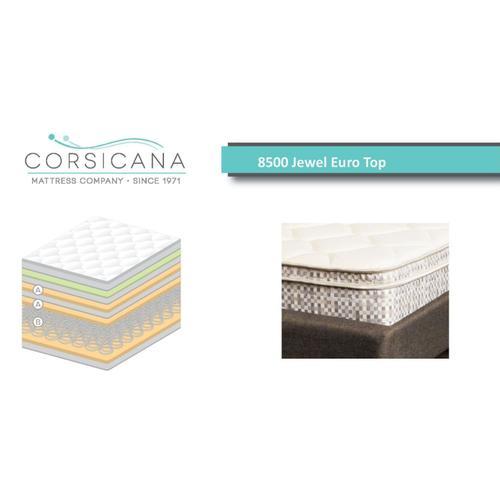 Crossroads Furniture - 8500 Corsicana Jewel Euro Top - Full