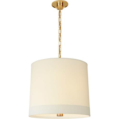 Barbara Barry Simple Banded 2 Light 24 inch Soft Brass Pendant Ceiling Light