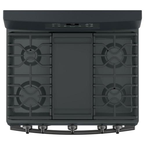 """Gallery - GE® 30"""" Free-Standing Gas Convection Range"""