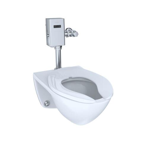 Commercial Ultra-High Efficiency Toilet, 1.0 GPF, Elongated Bowl - CEFIONTECT (Reclaimed Water Option) - Cotton