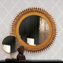 See Details - Medallion Gold Mirror