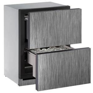 "U-Line24"" Refrigerator Drawers With Integrated Solid Finish (230 V/50 Hz Volts /50 Hz Hz)"