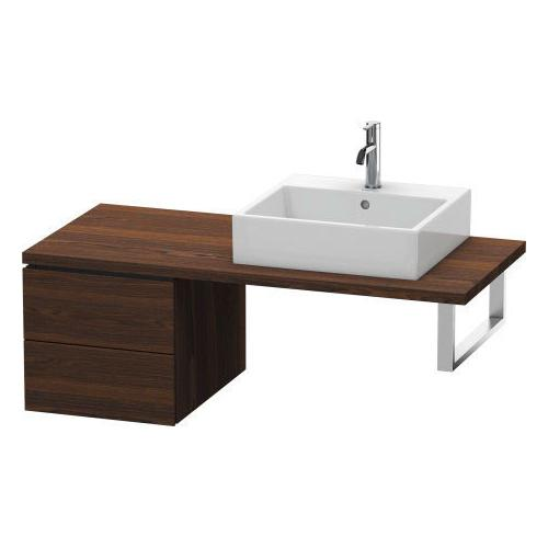 Duravit - Low Cabinet For Console, Brushed Walnut (real Wood Veneer)