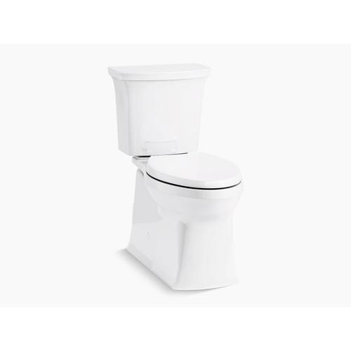 Kohler - White Two-piece Elongated 1.28 Gpf Chair Height Toilet With Right-hand Trip Lever