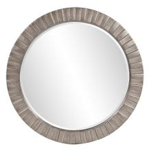 View Product - Serenity Mirror - Glossy Nickel