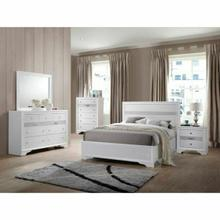ACME Naima Full Bed (No Storage) - 25765F - White
