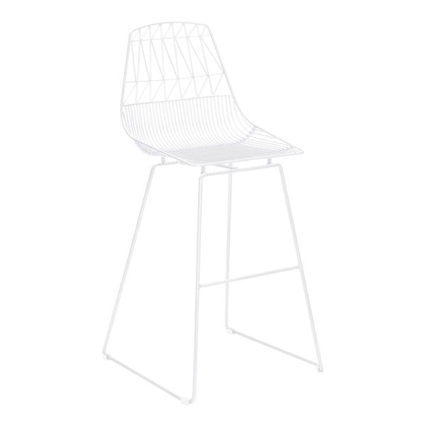 See Details - Brody Bar Chair White