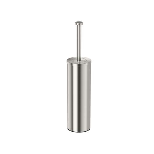 Latitude2 Slender Brush Holder in Satin Nickel
