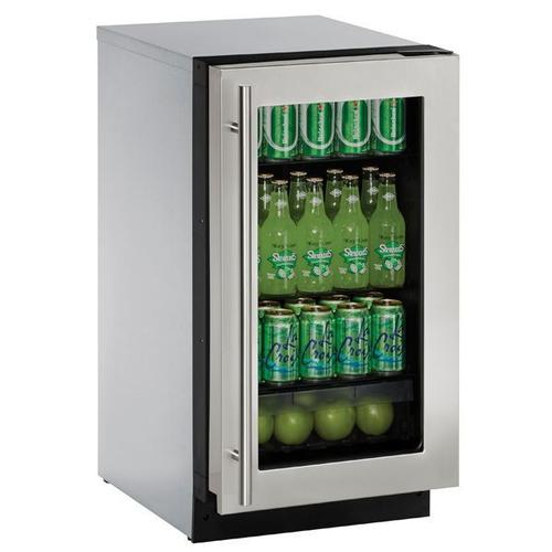"18"" Refrigerator With Stainless Frame Finish (115 V/60 Hz Volts /60 Hz Hz)"