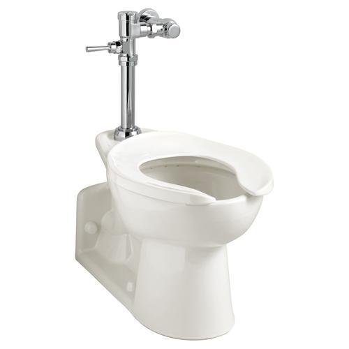 American Standard - Exposed Manual Top Spud Toilet Flush Valve - 1.28 gpf - Polished Chrome