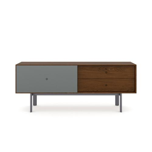 5229 Cabinet in Toasted Walnut Fog Grey