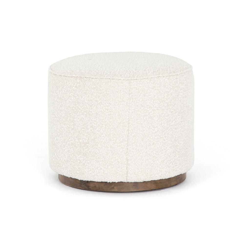 See Details - Knoll Natural Cover Sinclair Round Ottoman
