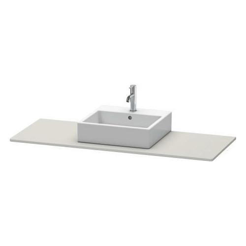 Console, Concrete Gray Matte (decor)