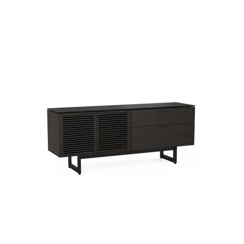 BDI Furniture - Corridor 6529 Storage Credenza in Charcoal Stained Ash