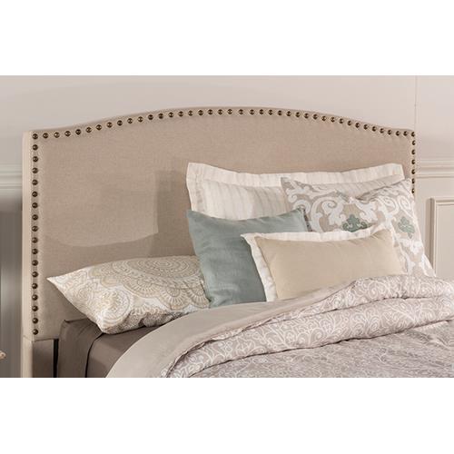 Hillsdale Furniture - Kerstein Fabric Headboard - King - Headboard Frame Not Included - Lt Taupe