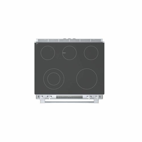 Gallery - 800 Series Electric Slide-in Range 30'' Stainless Steel HEI8056U
