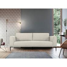 View Product - Divani Casa Jada - Modern Light Beige Fabric Loveseat
