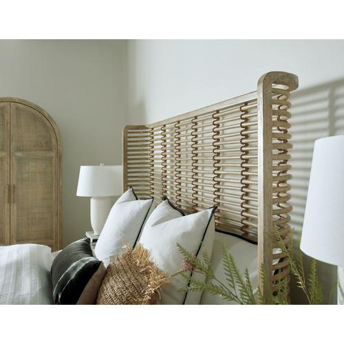 Bedroom Surfrider California King Rattan Bed