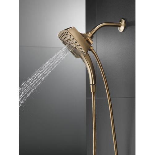 Champagne Bronze H 2 Okinetic ® In2ition ® 5-Setting Two-in-One Shower