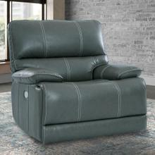 View Product - SHELBY - CABRERA AZURE Power Recliner