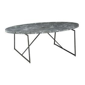 Alexa Oval Cocktail Table