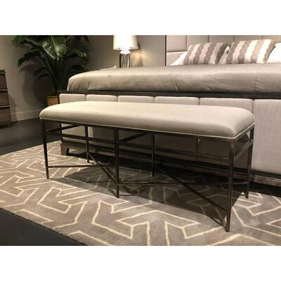 Horizon Bed End Bench - Dapple