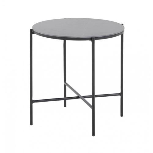 VIG Furniture - Modrest Hobart - Modern Black Ceramic End Table