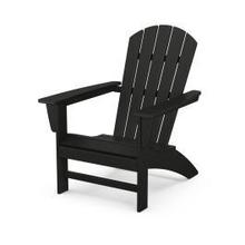 View Product - Nautical Adirondack Chair in Black