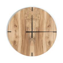 See Details - Lunas Wall Clock-gold Guanacaste