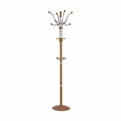 ACME Hubert Coat Rack (Swivel Top) - 06315 - Oak