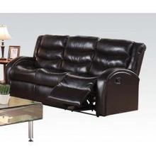 View Product - Espresso Sofa W/motion @n