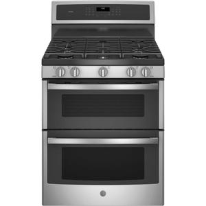 "GE ProfileGE PROFILEGE Profile(TM) 30"" Free-Standing Gas Double Oven Convection Range"