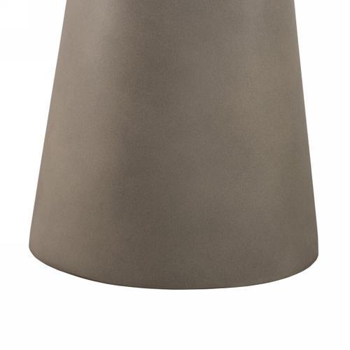 VIG Furniture - Nova Domus Essex - Contemporary Concrete, Metal and Glass End Table