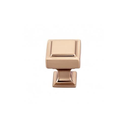 Ascendra Knob 1 Inch - Honey Bronze