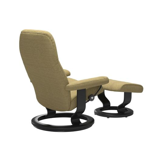 Stressless By Ekornes - Stressless® Consul (M) Classic chair with footstool