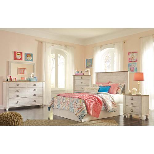 Ashley Furniture - B267 Bedroom Mirror (Willowton)