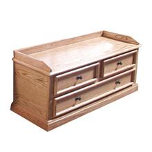 See Details - Forest Designs Mission Cedar Chest: 48W x 21H x 18D