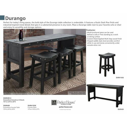 DURANGO Everywhere Console Table