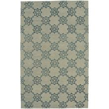 Daisy Chain Castle Grey Hand Tufted Rugs