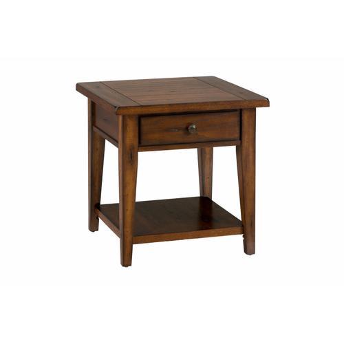 Jofran - Clay County Oak End Table