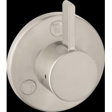 Brushed Nickel Diverter Trim S Trio/Quattro