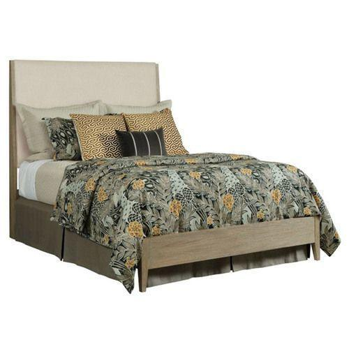 Symmetry Incline Queen Fabric Bed Low Footboard
