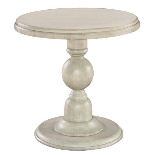1-2203LN Homestead Pedestal End Table